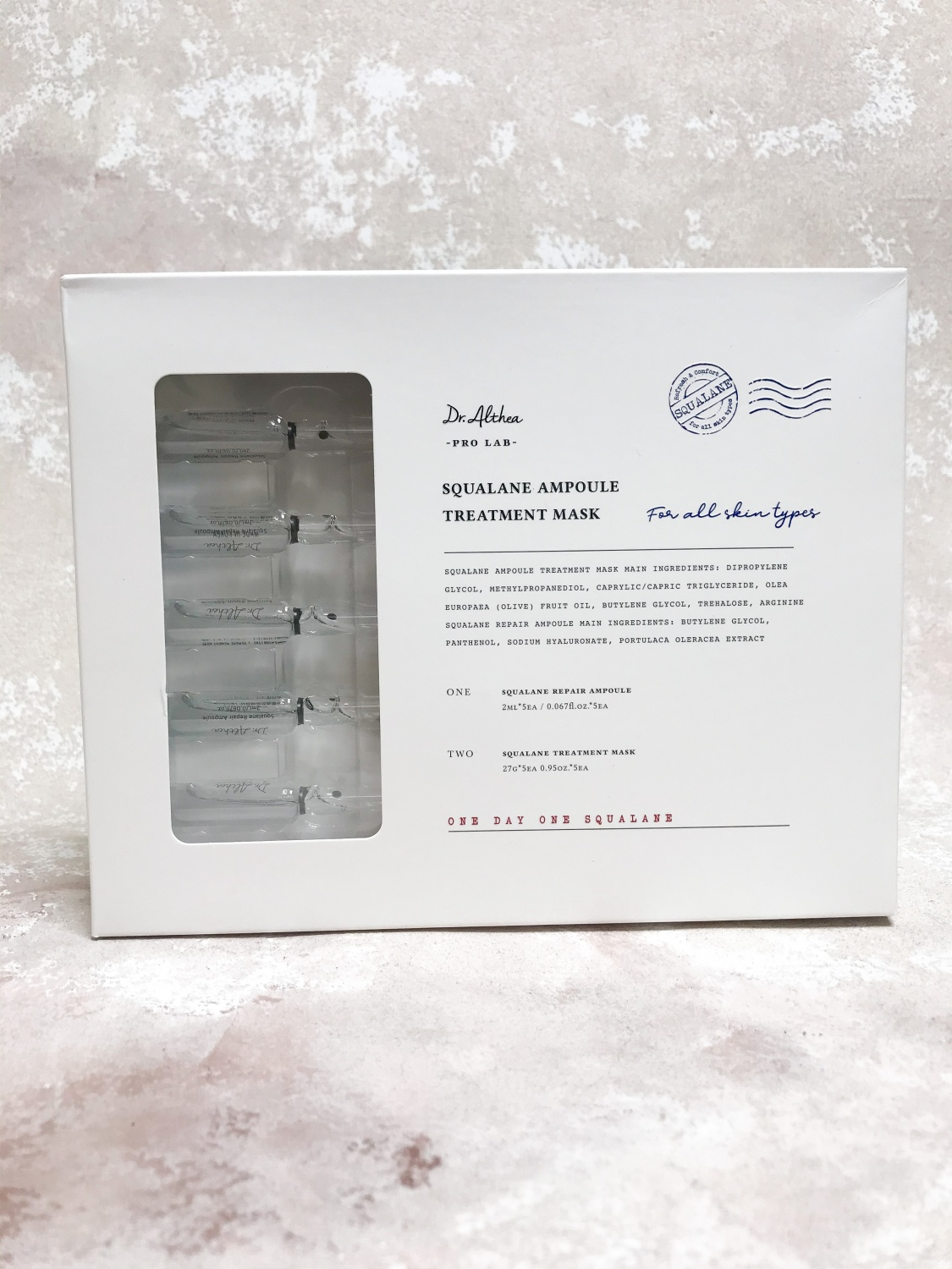 Dr. Althea Squalane Ampoule Treatment Mask