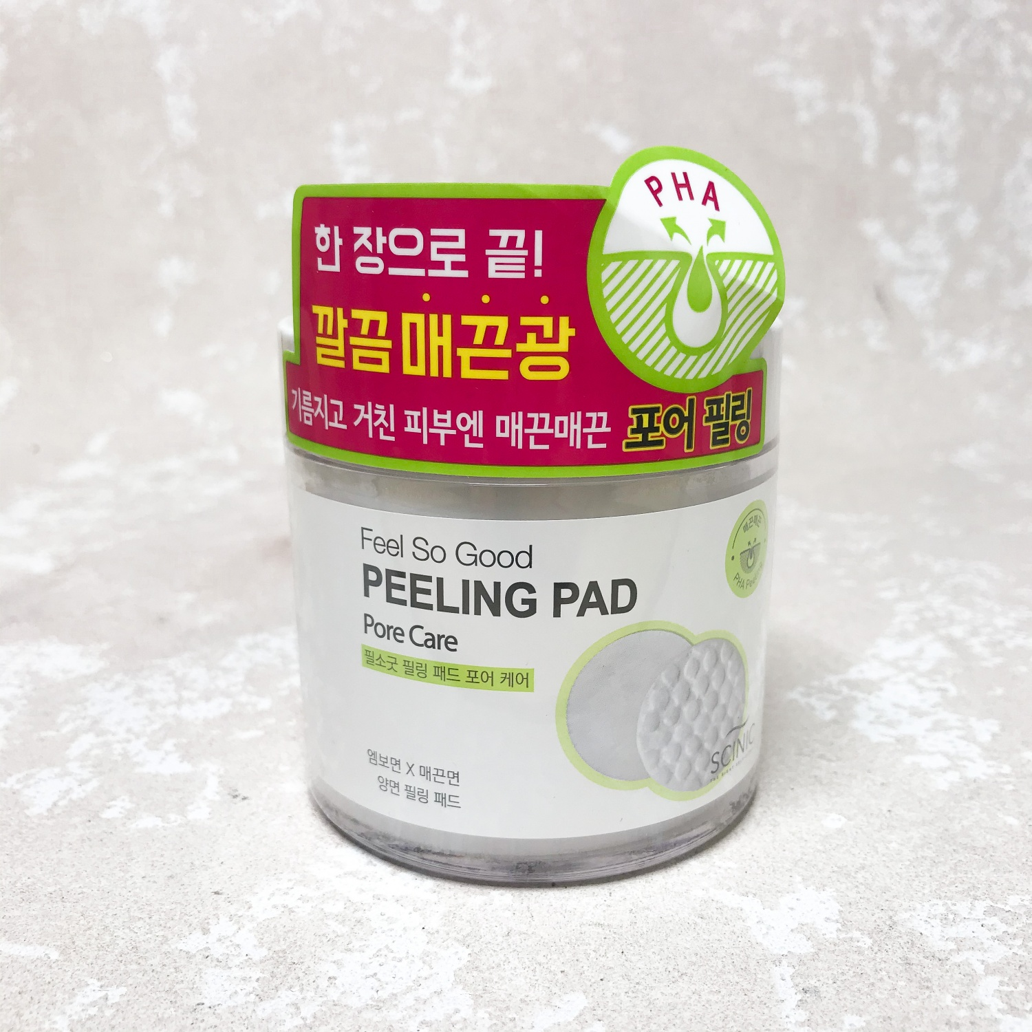Scinic Feel So Good Peeling Pad Pore Care