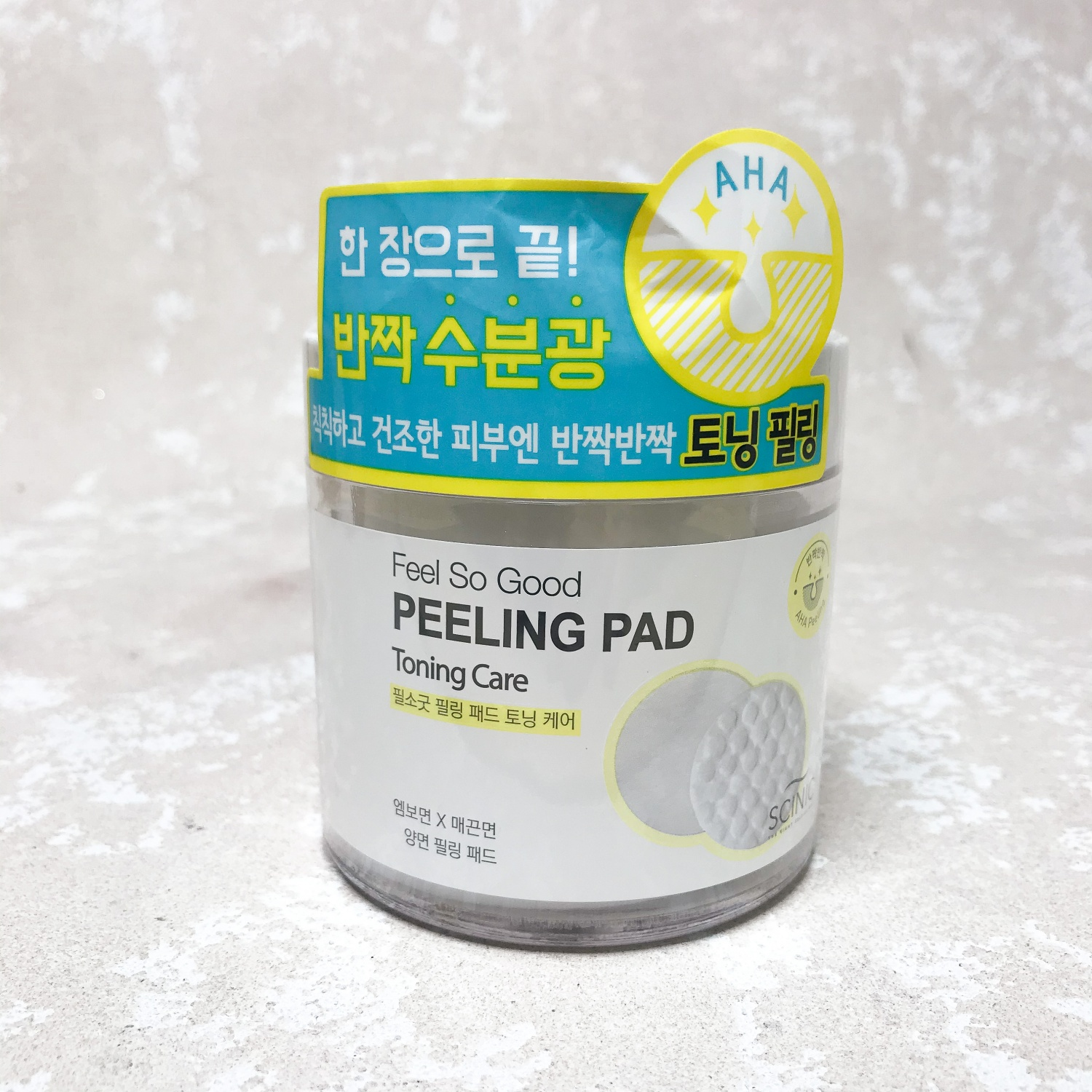 Scinic Feel So Good Peeling Pad Toning Care