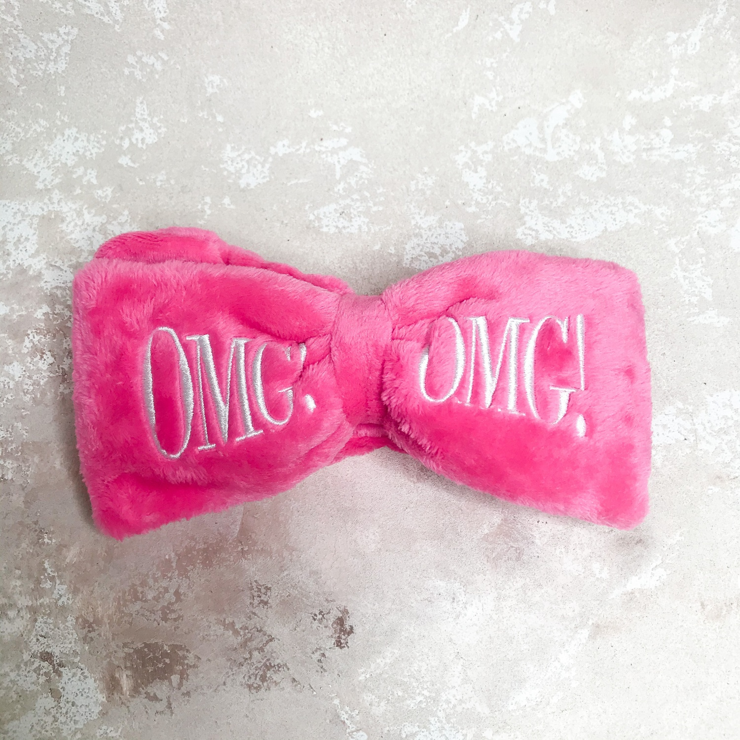 Double Dare OMG! Mega Hair Band Hot Pink