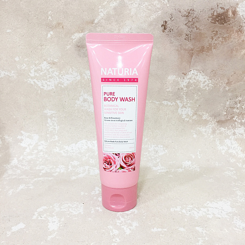 Naturia Pure Body Wash Rose & Rosemary