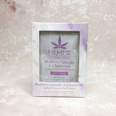 Hempz Blueberry Lavender & Chamomile Herbal Relaxing Bath Salts