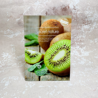 Secret Nature Mask Sheet Smoothing kiwi