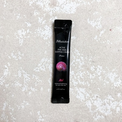 JMsolution Active Pink Snail Sleeping Cream Prime
